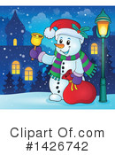 Snowman Clipart #1426742 by visekart