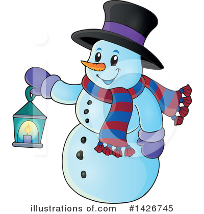 Snowman Clipart #1426745 by visekart