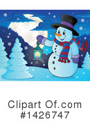 Snowman Clipart #1426747 by visekart