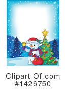 Snowman Clipart #1426750 by visekart