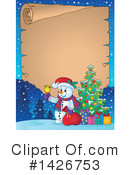 Snowman Clipart #1426753 by visekart