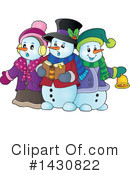 Royalty-Free (RF) Snowman Clipart Illustration #1430822