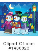 Snowman Clipart #1430823 by visekart