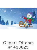 Snowman Clipart #1430825 by visekart