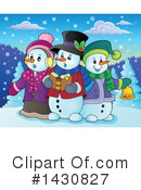Snowman Clipart #1430827 by visekart