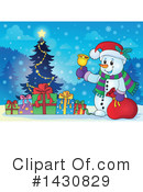 Snowman Clipart #1430829 by visekart