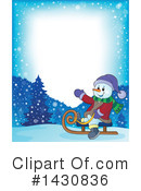 Snowman Clipart #1430836 by visekart