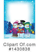 Snowman Clipart #1430838 by visekart