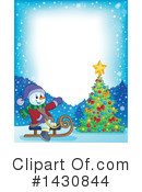 Royalty-Free (RF) Snowman Clipart Illustration #1430844