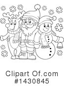 Snowman Clipart #1430845 by visekart