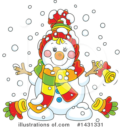 Christmas Clipart #1431331 by Alex Bannykh