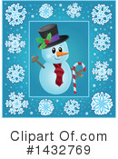 Snowman Clipart #1432769 by visekart