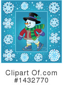 Snowman Clipart #1432770 by visekart