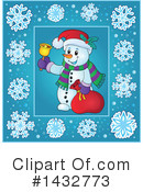 Snowman Clipart #1432773 by visekart