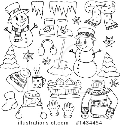 Icicle Clipart #1434454 by visekart