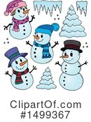 Snowman Clipart #1499367 by visekart