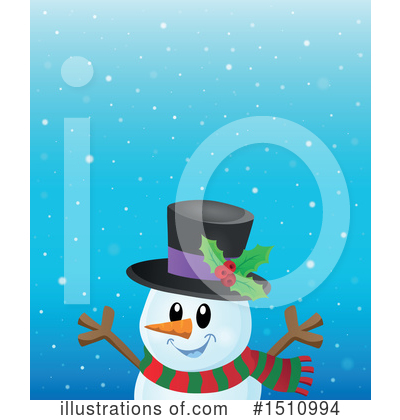 Snowman Clipart #1510994 by visekart