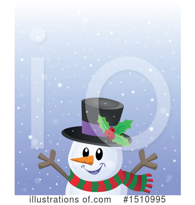 Snowman Clipart #1510995 by visekart