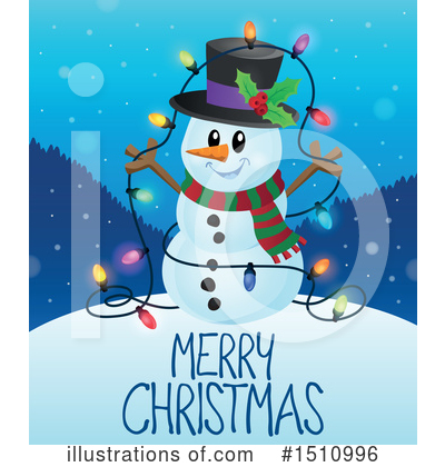 Snowman Clipart #1510996 by visekart