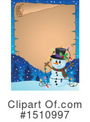 Snowman Clipart #1510997 by visekart