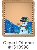 Snowman Clipart #1510998 by visekart