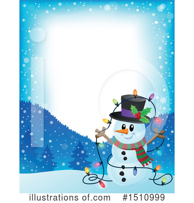 Snowman Clipart #1510999 by visekart