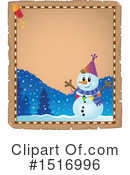 Snowman Clipart #1516996 by visekart