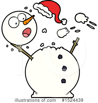 Snowman Clipart #1524439 by lineartestpilot