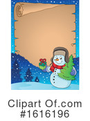 Snowman Clipart #1616196 by visekart