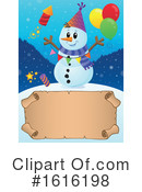 Snowman Clipart #1616198 by visekart