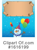 Snowman Clipart #1616199 by visekart