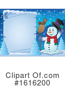 Snowman Clipart #1616200 by visekart