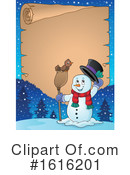 Snowman Clipart #1616201 by visekart