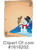 Snowman Clipart #1616202 by visekart