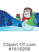 Snowman Clipart #1616208 by visekart