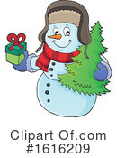 Snowman Clipart #1616209 by visekart
