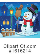 Snowman Clipart #1616214 by visekart