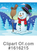 Snowman Clipart #1616215 by visekart