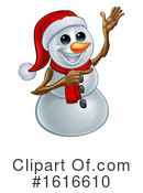 Snowman Clipart #1616610 by AtStockIllustration