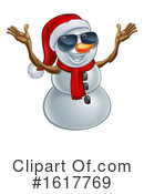 Snowman Clipart #1617769 by AtStockIllustration