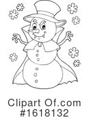 Snowman Clipart #1618132 by visekart