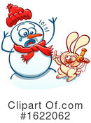 Snowman Clipart #1622062 by Zooco