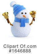 Snowman Clipart #1646888 by Steve Young