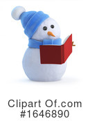 Snowman Clipart #1646890 by Steve Young