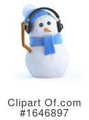 Snowman Clipart #1646897 by Steve Young