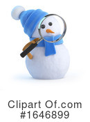 Snowman Clipart #1646899 by Steve Young