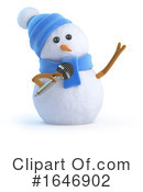 Snowman Clipart #1646902 by Steve Young