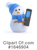 Snowman Clipart #1646904 by Steve Young