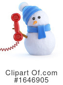Snowman Clipart #1646905 by Steve Young