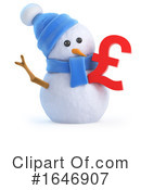 Snowman Clipart #1646907 by Steve Young